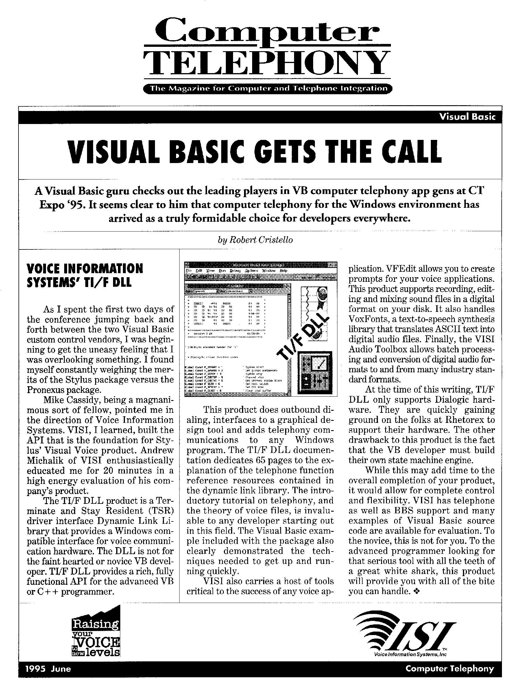 Teleconnect Editor's Choice